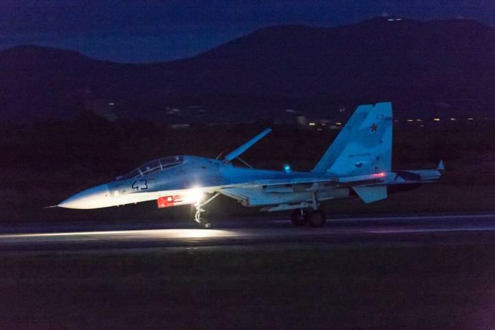 Ночные воздушные бои прошли в небе Приморья