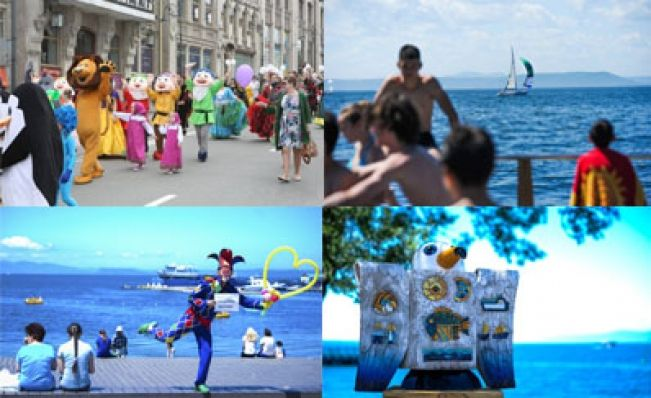 Фото недели: город в пузыре, День города и клоун из ГУФСИН
