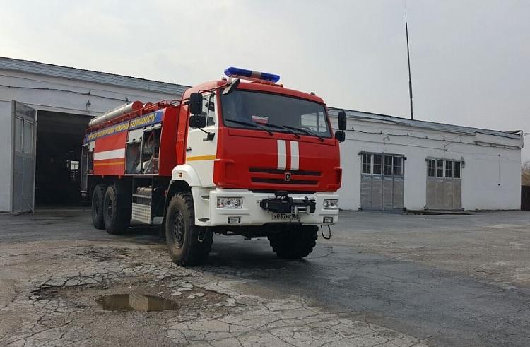 Автомобиль с боеприпасами загорелся в Приморье