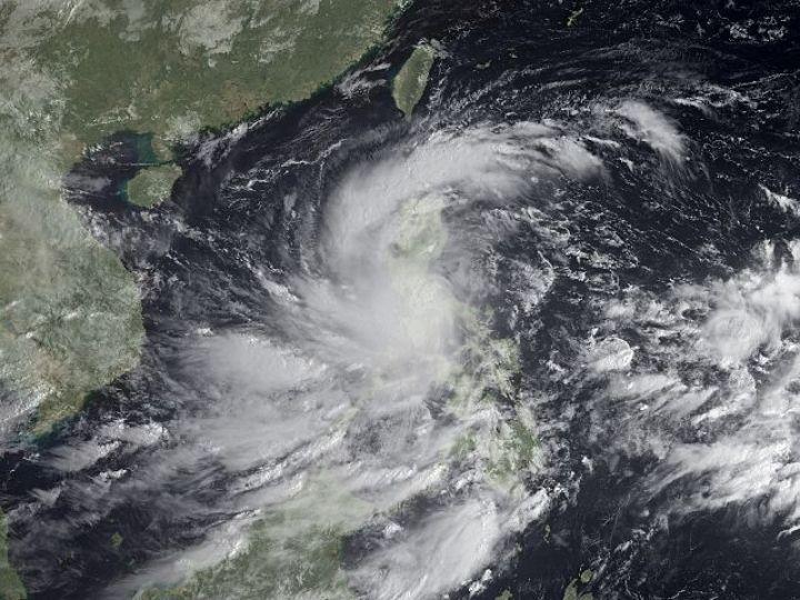 В Китае эвакуированы почти полмиллиона человек из-за тайфуна Nepartak