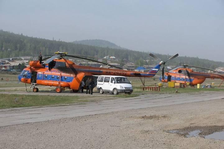 На Дальнем Востоке ведутся поиски вертолета Ми-8, выполняющего рейс в Приморье