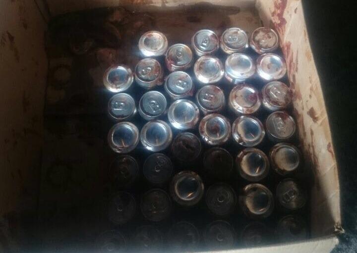 Чтобы передать в приморскую колонию пиво, его спрятали в необычном месте