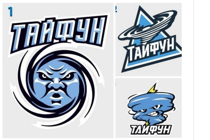 Приморцы выбирают эмблему для клуба МХЛ «Тайфун»