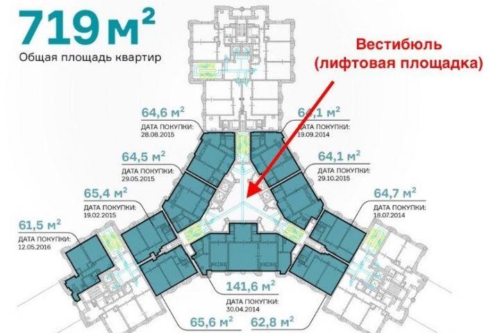 Куратор строек АТЭС Шувалов решил присоединить к «царь-квартире» лифтовый вестибюль