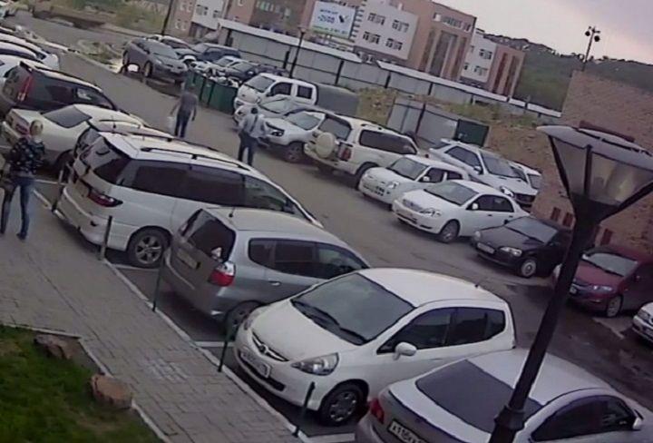 Феерическая история с автомобилем произошла во Владивостоке