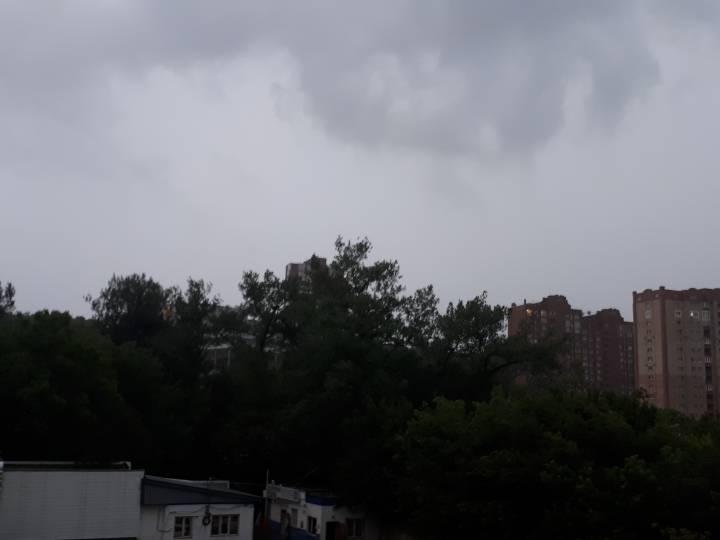 Владивосток окутала тьма