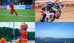 Фото недели: гонки на «Драконах» и соревнования на байках