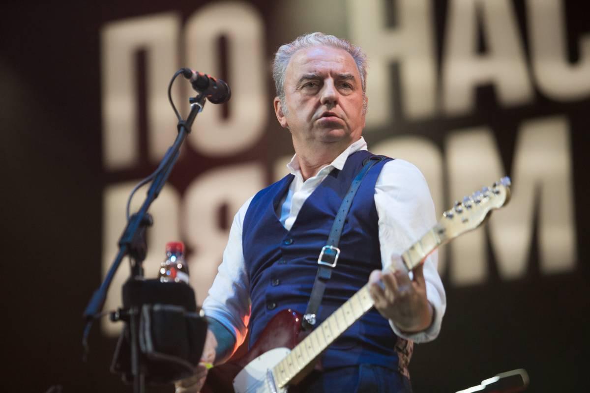 Легендарный «Чайф» дал во Владивостоке бесплатный концерт