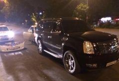 Необычное ДТП с «кадиллаком» произошло во Владивостоке