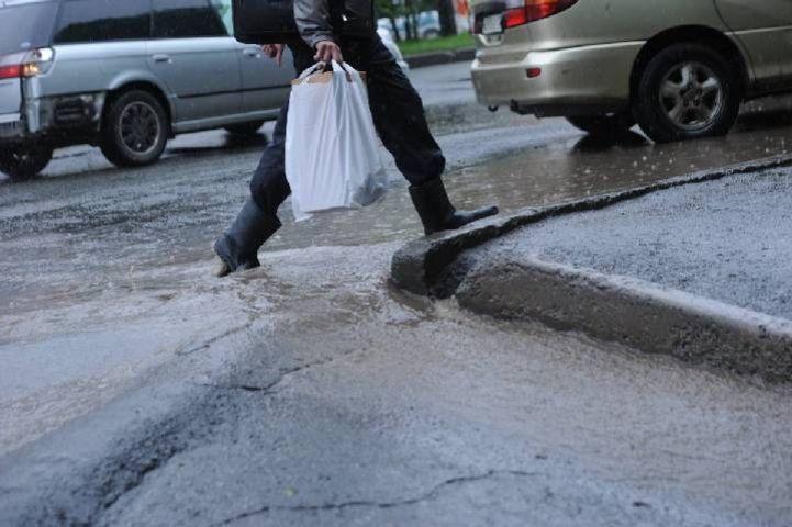 В выходные в Приморье похолодает и пойдет дождь – Примгидромет