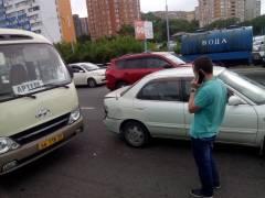 ДТП с пригородным автобусом произошло на Некрасовском путепроводе