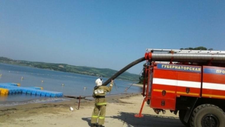 В поселке Андреевка прошли пожарные учения