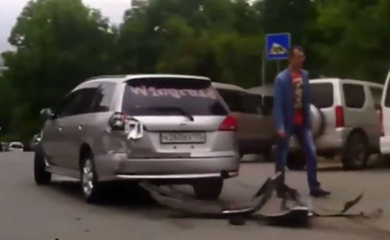 Массовое ДТП произошло утром в воскресенье во Владивостоке