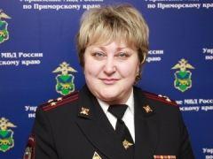 Женщина-полицейский возглавила миграционное управление в Приморье