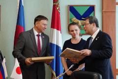 Спикер приморского парламента встретился с японскими депутатами