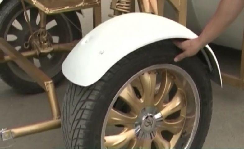 Колеса из Владивостока стали частью кареты для «Золушки»
