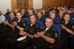 Моряков и ветеранов ТОФ поздравили с Днем ВМФ