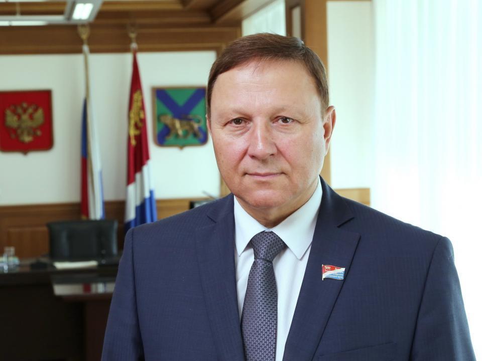 Поздравление председателя Законодательного cобрания с Днем ВМФ