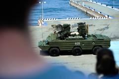 Генеральная репетиция парада ко Дню ВМФ прошла во Владивостоке