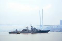 Владивосток отмечает День Военно-Морского Флота