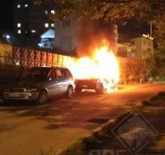 Во Владивостоке вновь горел автомобиль
