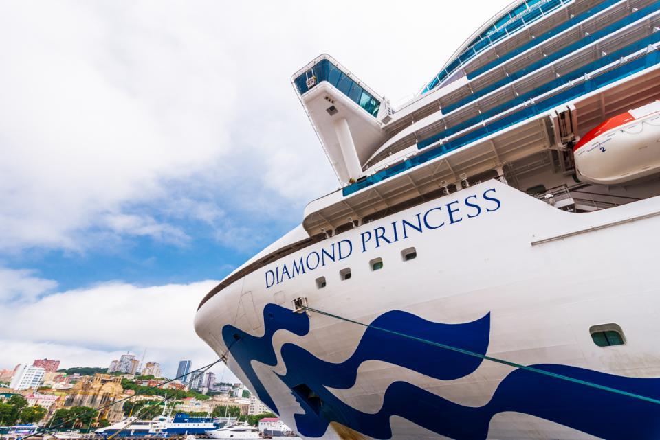 Суперлайнер Diamond Princess посетил во Владивосток