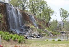 Водопады на набережной ДВФУ не будут работать до конца лета