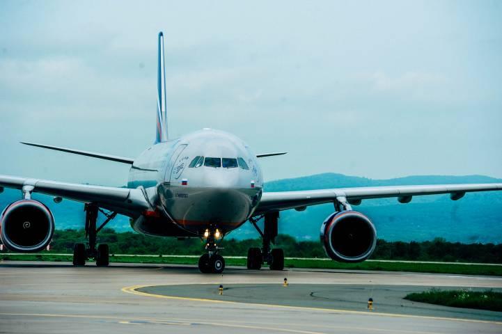 В международном аэропорту Владивостока прошли пожарные учения