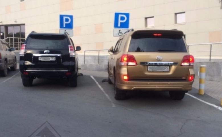 Жителей Владивостока в очередной раз возмутили «инвалиды»на дорогих автомобилях