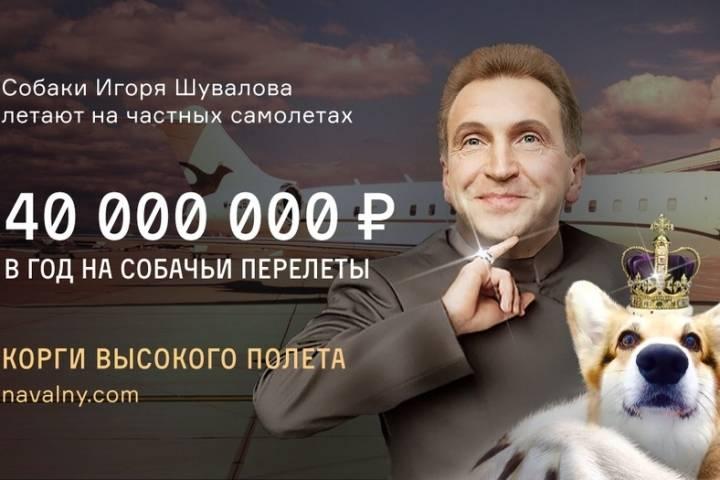 Журналисту не дали задать Шувалову вопросы про «царь-квартиру» и самолет для корги