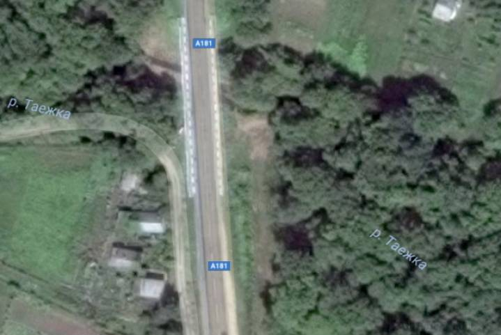 В районе Арсеньева в Приморье обрушился мост: движение большегрузов закрыто