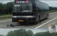 У водителя междугороднего автобуса в Приморье случился инфаркт за рулем