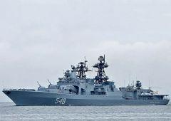 Контрактники получили ожоги на «Адмирале Пантелееве» во Владивостоке