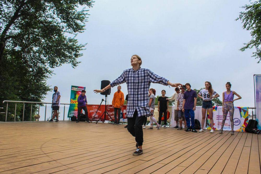 Фестиваль уличных танцев прошел во Владивостоке