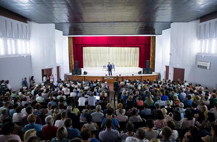 Жители Спасска-Дальнего задали свои вопросы Андрею Тарасенко