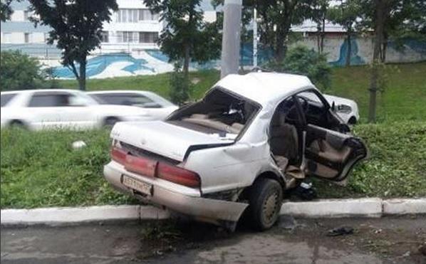 Смертельная авария произошла во Владивостоке