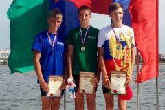 Юный приморский гребец завоевал бронзу на всероссийских соревнованиях