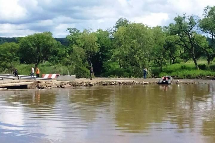 Спад уровней воды начался на реках Приморья