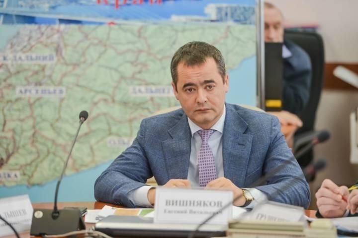 Евгений Вишняков снят с должности вице-губернатора Приморья