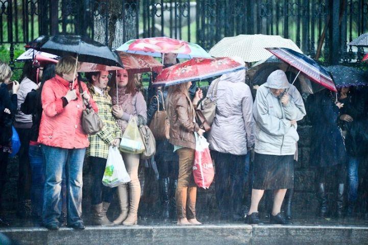 Небольшой дождь обещают синоптики Владивостоку к вечеру