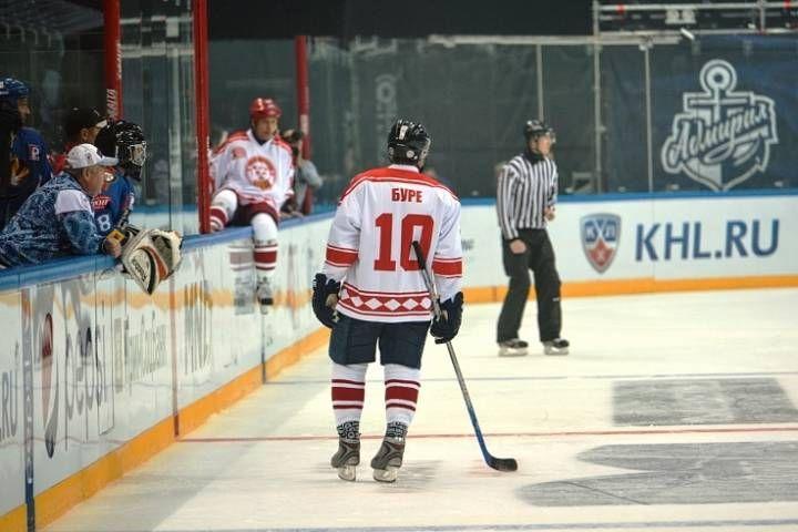 НХЛ опровергла информацию о матче с Буре и Фетисовым во Владивостоке