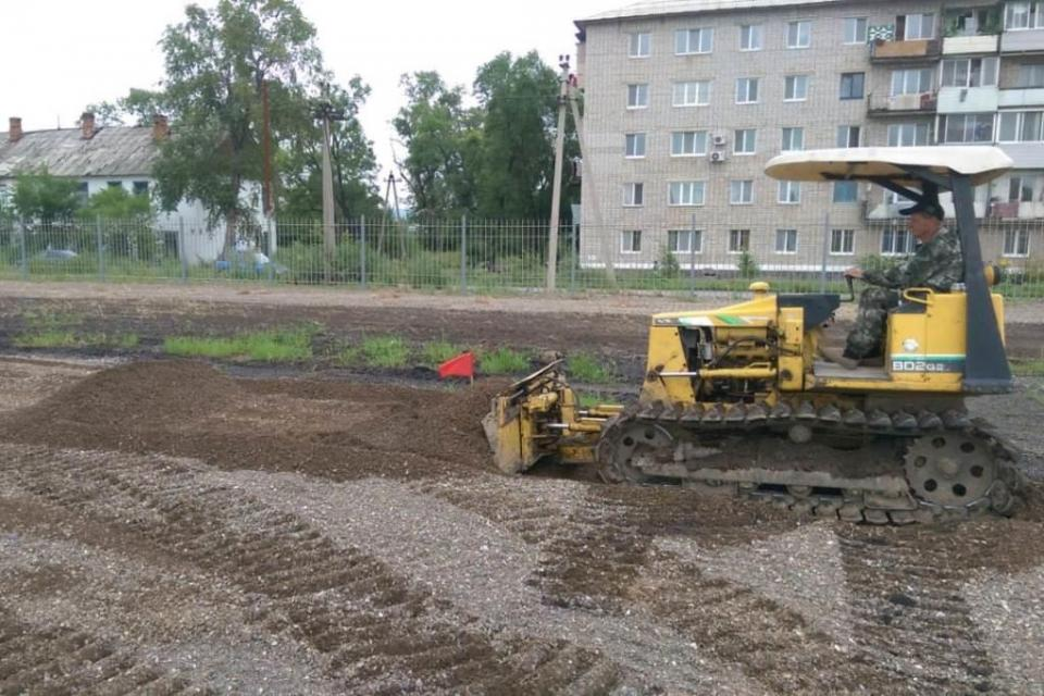 В скором времени в поселке Сибирцево появится новый парк отдыха
