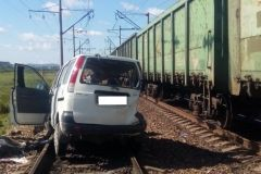 Полиция проводит проверку по факту смертельного ДТП на ж/д переезде в Приморье