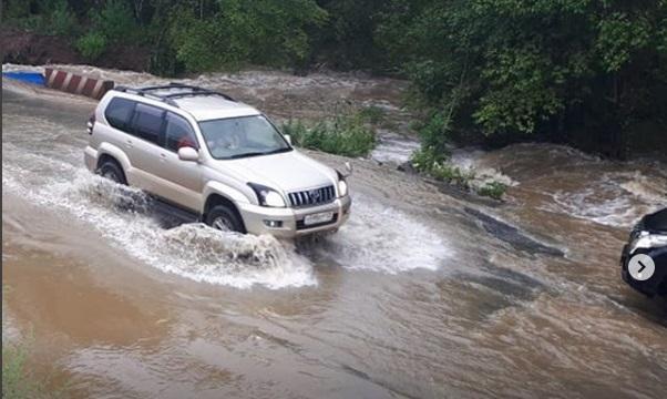 Южные районы Приморья снова тонут из-за дождя