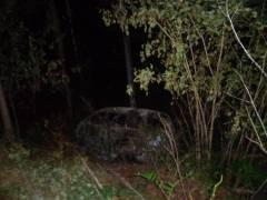 В Приморье автомобилист сгорел заживо в результате ДТП