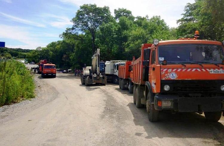 Транспортное сообщение нарушено с тремя селами Приморья