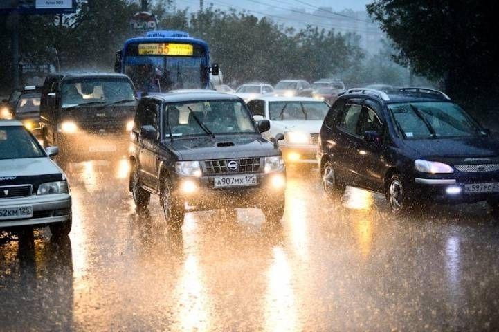 Сильный дождь ожидается во Владивостоке вечером