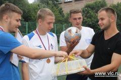 Лучших футболистов-любителей выявили во Владивостоке