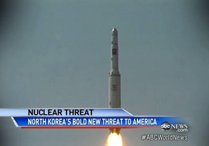 Ракета КНДР преодолела несколько сотен километров и упала в Японское море