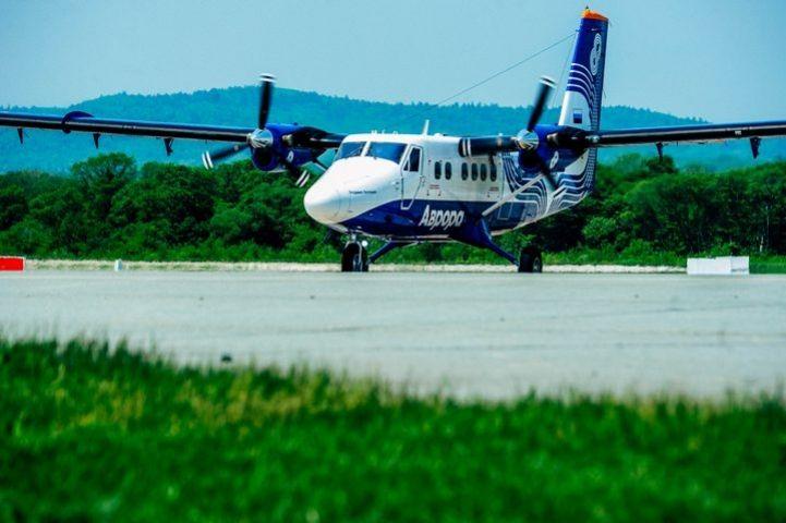 Новый авиарейс из Владивостока запустила «Аврора»